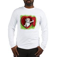 Heart door Long Sleeve T-Shirt