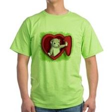 Heart door T-Shirt