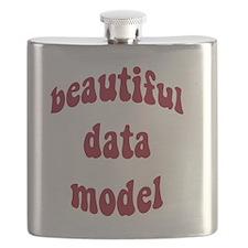 beautiful data model (red) Flask