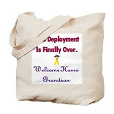 Welcome home grandson Tote Bag