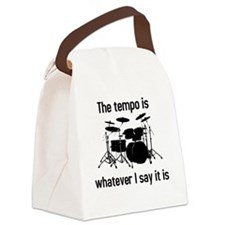 The tempo is what I say (TS-B) Canvas Lunch Bag