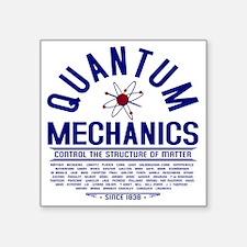 "Quantum Mechanics Square Sticker 3"" x 3"""