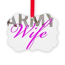 DCU Army Wife Ornament
