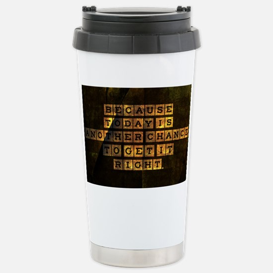 card Because today is a Stainless Steel Travel Mug