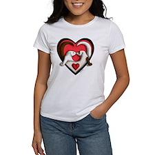Ferrets in Heart Tee
