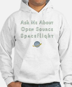 Ask Me About Open Source Spacefl Hoodie