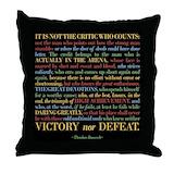 Inspirational quotes Throw Pillows