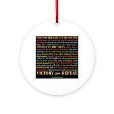 The Critic Round Ornament