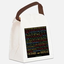 The Critic Canvas Lunch Bag
