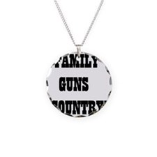 FAMILY GUNS COUNTRY Necklace