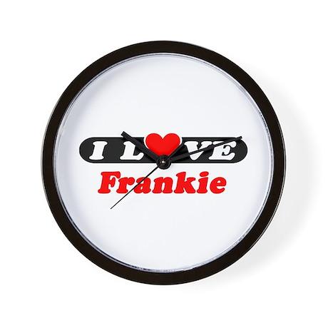 I Love Frankie Wall Clock