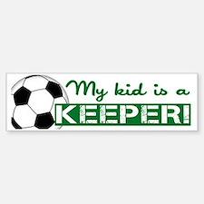 Proud Goalkeeper Parent  Bumper Bumper Sticker
