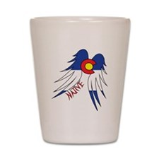 Native WIngs Shot Glass