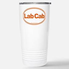 Lab Cab Orange Travel Mug
