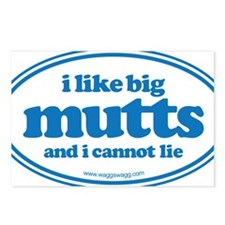 I Like Big Mutts And I Ca Postcards (Package of 8)