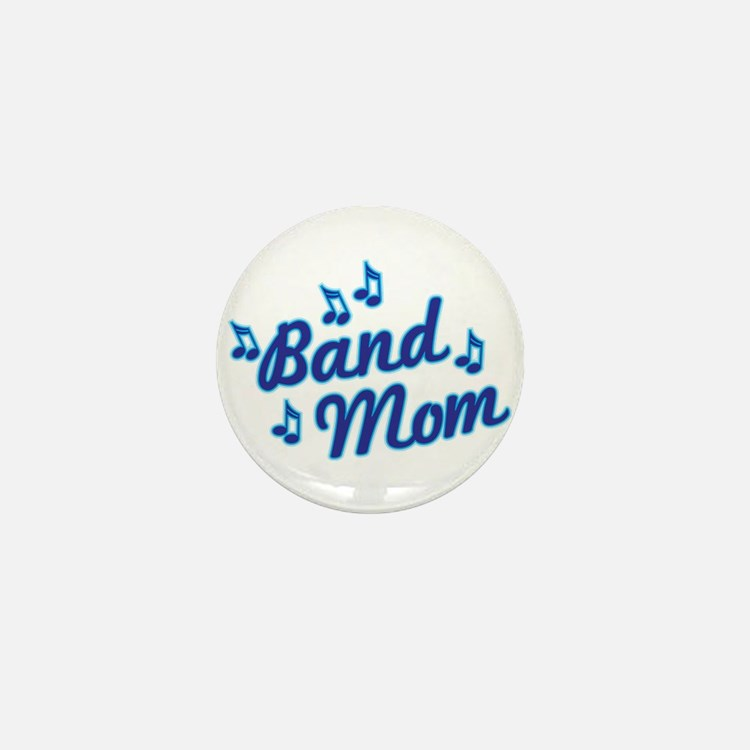 Band Mom Mini Button