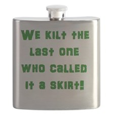 We kilt the last one who called it a skirt! Flask
