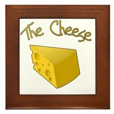 The Cheese Framed Tile