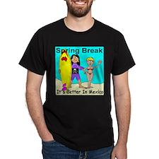 Spring Break It's Better In M T-Shirt