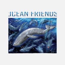 Ocean Friend Throw Blanket