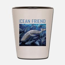 Ocean Friend Shot Glass