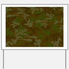 Camouflage Yard Sign