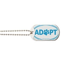 Adopt Blue Dog Tags
