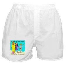 Spring Break Acapulco Boxer Shorts
