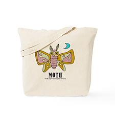 Cartoon Moth by Lorenzo Tote Bag