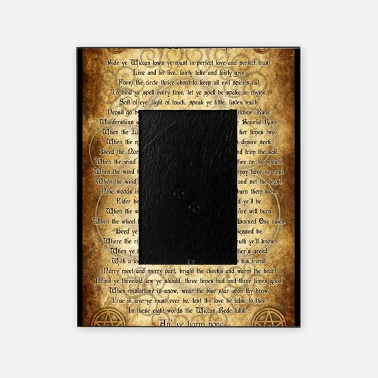 Wiccan Rede Picture Frame