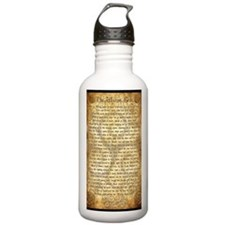 Wiccan Rede Water Bottle