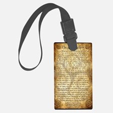Wiccan Rede Luggage Tag