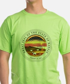 Great Seal of Kansas T-Shirt