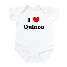 I love Quinoa Infant Bodysuit