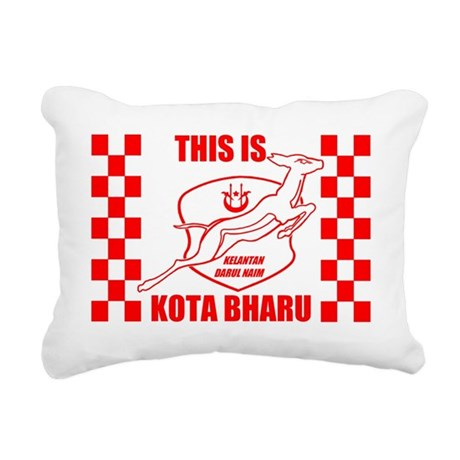 This Is Kota Bharu Rectangular Canvas Pillow