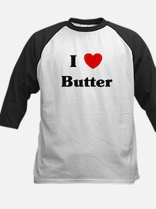 I love Butter Kids Baseball Jersey