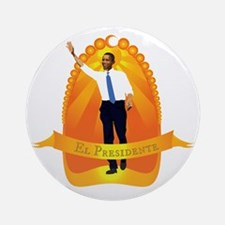 El Presidente Round Ornament