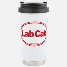 Lab Cab Red Travel Mug