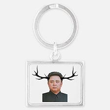 The Deer Leader Landscape Keychain