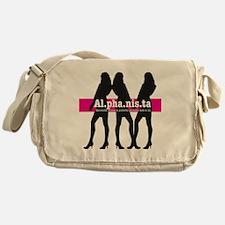 Alphanista; The Wonder Woman of 21st Messenger Bag