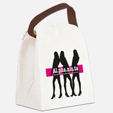 Alphanista; The Wonder Woman of 2 Canvas Lunch Bag