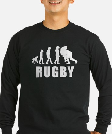Rugby Tackle Evolution Long Sleeve T-Shirt