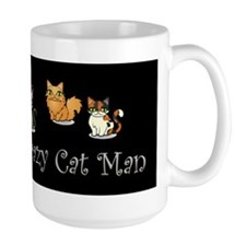 Crazy Cat Man Mug