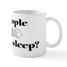 Do People Sneeze Mug