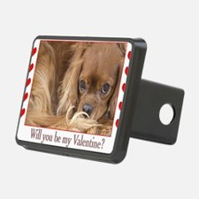 Will you be my Valentine?  Hitch Cover