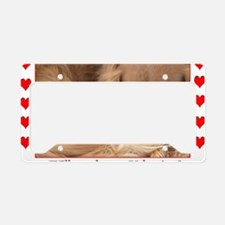 Will you be my Valentine? Spa License Plate Holder
