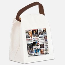Obama Inauguration Canvas Lunch Bag