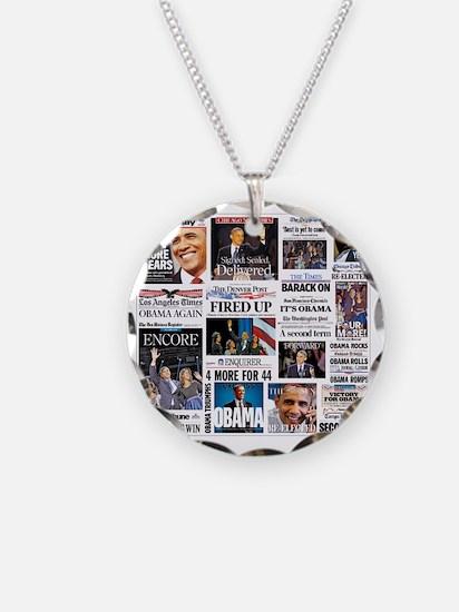 Obama Inauguration Necklace