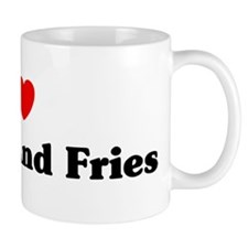 I love Burger And Fries Mug