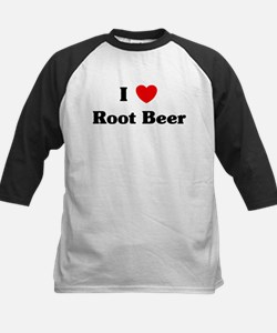 I love Root Beer Kids Baseball Jersey